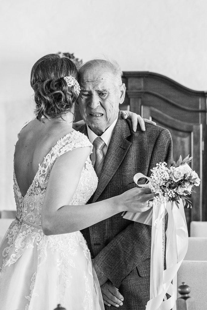 Braut Großvater Bildgefühle
