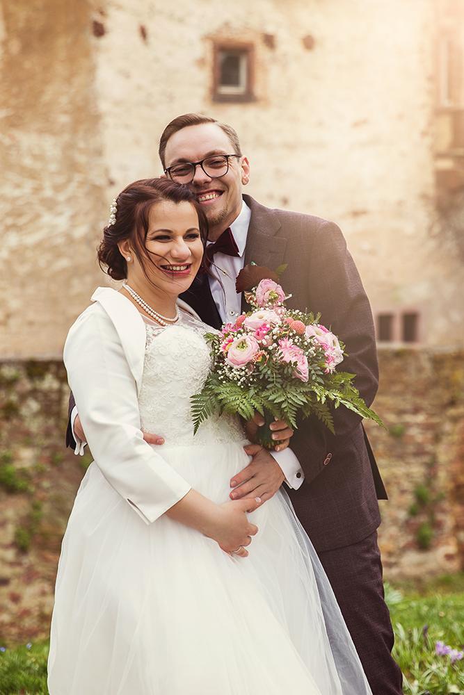 Brautpaar Hochzeitsfoto Bildgefühle